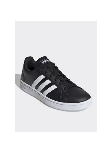 adidas Kadın Grand Court Base Sneakers EE7482 Siyah
